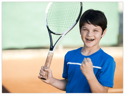 Minitenis la Academia de tenis Victor Hanescu