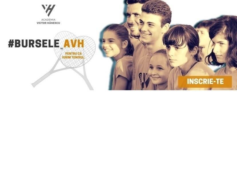 Academia Victor Hanescu ofera burse copiilor talentati