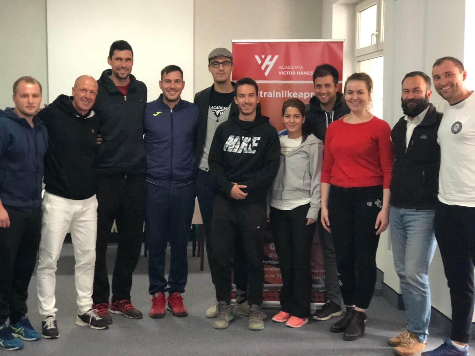 Academia Victor Hănescu aduce din nou in Romania un reputat antrenor de tenis din Italia